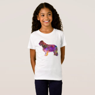 Bearded collie in watercolor T-Shirt