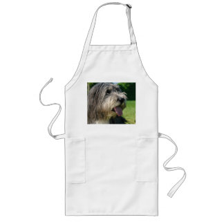 bearded-collie laying 2 long apron