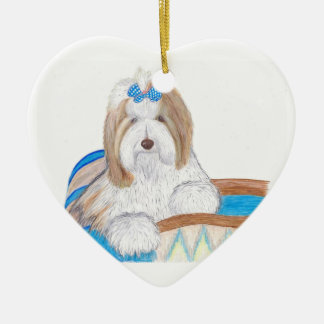 Bearded Collie Ornament