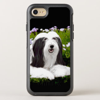 Bearded Collie (Painted) OtterBox Symmetry iPhone 8/7 Case