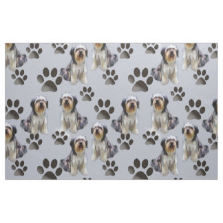 Bearded Collie Seamless fabric