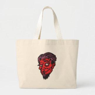 bearded devil canvas bags