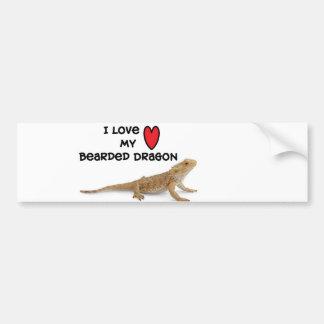 Bearded dragon Bumper Sticker