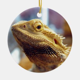 Bearded Dragon Ceramic Ornament