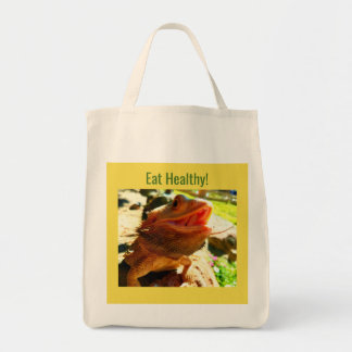 Bearded Dragon Grocery Tote