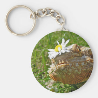 Bearded dragon key ring