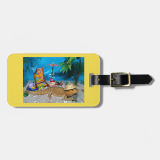 Bearded Dragon Luggage Tag