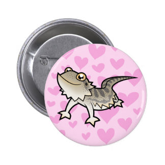 Bearded Dragon / Rankin Dragon Love Button