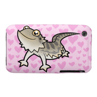 Bearded Dragon / Rankin Dragon Love Case-Mate iPhone 3 Case