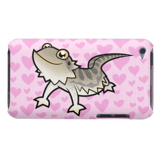 Bearded Dragon / Rankin Dragon Love iPod Touch Case-Mate Case