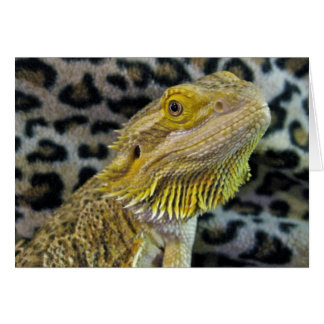 Bearded Dragon Valentines Card