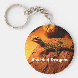 Bearded Dragons Key Ring