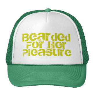 Bearded For Her Cap