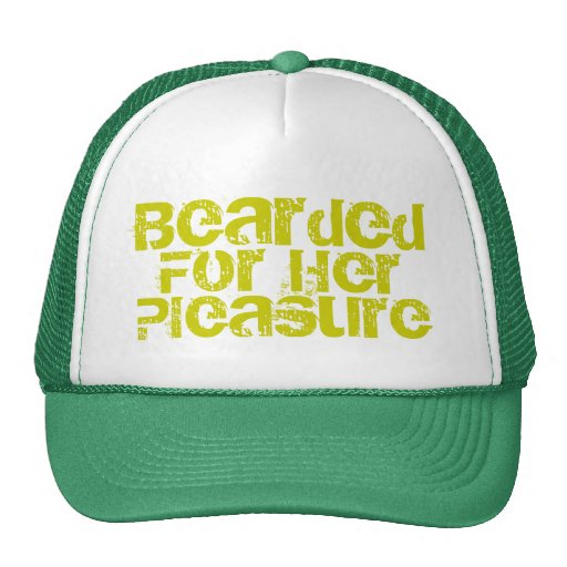 Bearded For Her Trucker Hats
