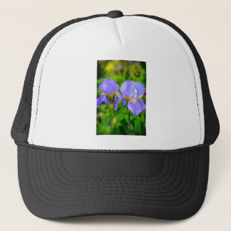 Bearded Iris Trucker Hat