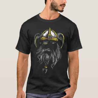 Bearded King Viking Warrior Tee