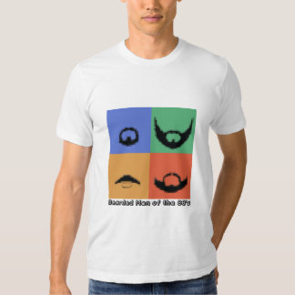 Bearded Men of the 80's Tshirts