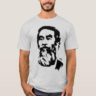 Bearded Saddam Hussein Portrait T-Shirt