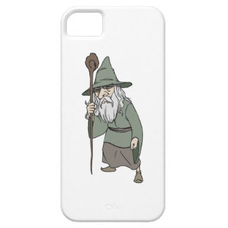 Bearded Wizard with Wizard's Staff Case For The iPhone 5