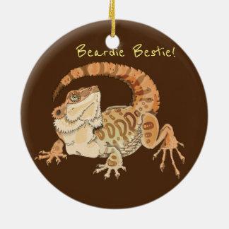 Beardie Bestie! Ceramic Ornament