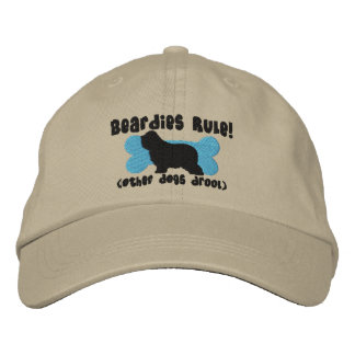 Beardies Rule Embroidered Hat