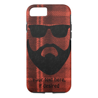 Beards & Flannel iPhone 8/7 Case