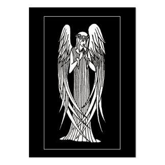 Beardsley Angel Mourning Card ATC Business Card