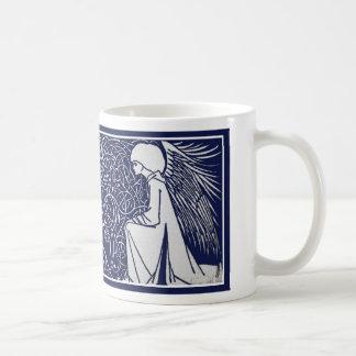 Beardsley Angels Art Nouveau Mug