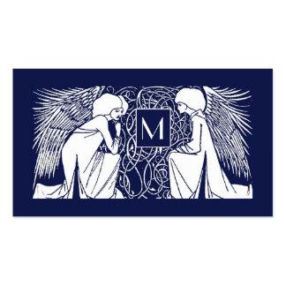 Beardsley Angels Monogram Mommy Calling Card Pack Of Standard Business Cards