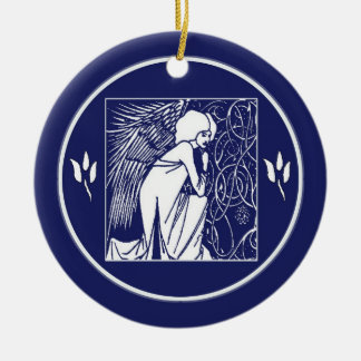 Beardsley Art Nouveau Angel Ornament