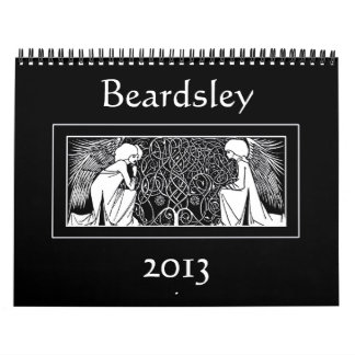 Beardsley Art Nouveau Illustrations 2013 Calendar