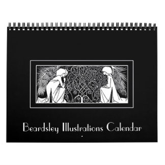 Beardsley Art Nouveau Illustrations Calendar