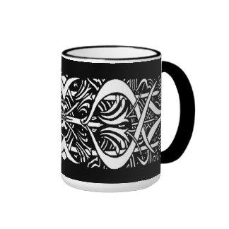Beardsley Border Abstract Mug