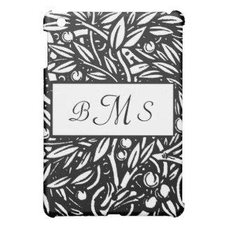 Beardsley Floral Monogram iPad Case