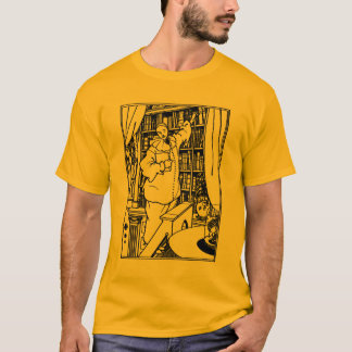 Beardsley Illustration: Pierrot's Library T-Shirt