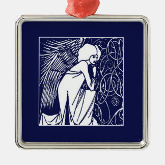 Beardsley Nouveau Angel Ornament