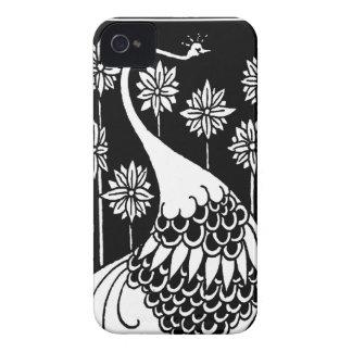 Beardsley Nouveau Peacock Blackberry Bold Casemate iPhone 4 Covers