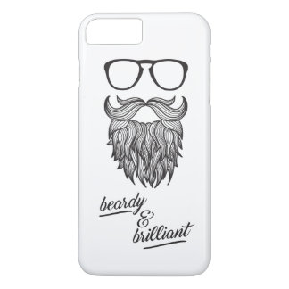 beardy & brilliant iPhone 7 plus case