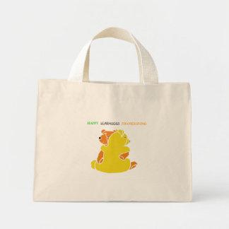 """ bEARHUGGS "" / Thanksgiving Canvas Bag"