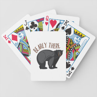 Bearly There Bicycle Playing Cards