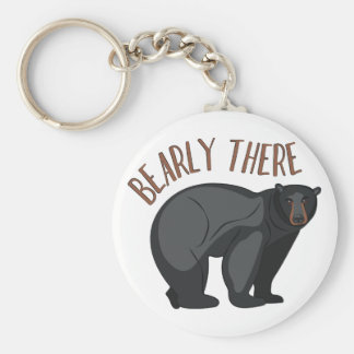 Bearly There Key Ring