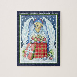 "Bear's Christmas Joy 8"" x 10"" Puzzle with Gift Box"