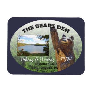 Bears Den Customizable Magnet