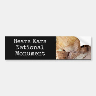Bear's Ears National Monument Bumper Sticker