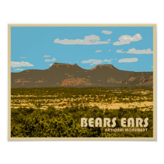 Bears Ears National Monument Poster