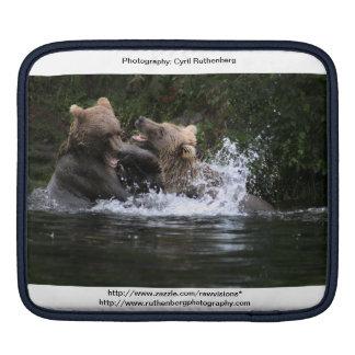Bears having fun. sleeves for iPads