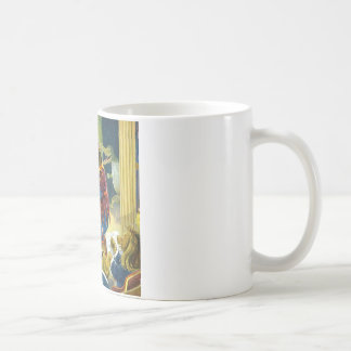 Bears in a Christmas Pageant in Animal Land Coffee Mug