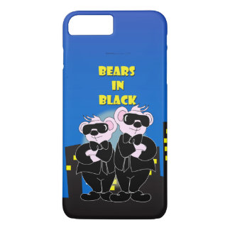 BEARS IN BLACK Apple iPhone 7 Plus  Barely There iPhone 8 Plus/7 Plus Case