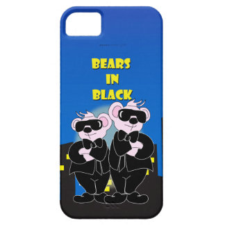 BEARS IN BLACK iPhone SE + iPhone 5/  Barely There Barely There iPhone 5 Case