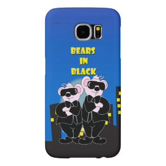 BEARS IN BLACK Samsung Galaxy S6 Barely There Samsung Galaxy S6 Cases